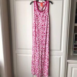 Girls ikat maxi dress